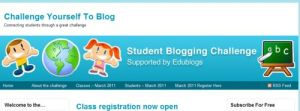 The Student Blogging Challenge site